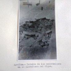 Fotografía antigua: FOTOGRAFIA SOBRE CARTON DE AGUILAS, MURCIA, AÑOS 40/50, VER PIE DE FOTO. Lote 99516111