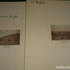 Fotografía antigua: LA PESGA CACERES 1930 2 FOTOGRAFIAS JEAN BRAUNWALD ARQUITECTO. Lote 103156635