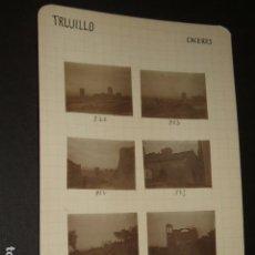 Fotografía antigua: TRUJILLO CACERES 1930 19 FOTOGRAFIAS JEAN BRAUNWALD ARQUITECTO. Lote 103156867