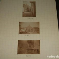 Fotografía antigua: PLASENCIA CACERES 1930 18 FOTOGRAFIAS JEAN BRAUNWALD ARQUITECTO. Lote 103157035
