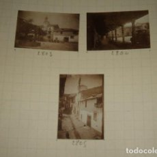Fotografía antigua: CUACOS DE YUSTE CACERES 1930 8 FOTOGRAFIAS JEAN BRAUNWALD ARQUITECTO. Lote 103157439