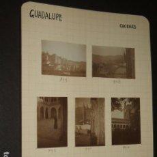 Fotografía antigua: GUADALUPE CACERES 1930 26 FOTOGRAFIAS JEAN BRAUNWALD ARQUITECTO. Lote 103157623
