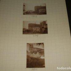 Fotografía antigua: JARANDILLA DE LA VERA CACERES 1930 3 FOTOGRAFIAS JEAN BRAUNWALD ARQUITECTO. Lote 103160087