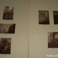 Fotografía antigua: BURGOS 1930 7 FOTOGRAFIAS JEAN BRAUNWALD ARQUITECTO. Lote 103161443
