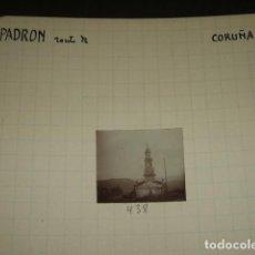 Fotografía antigua: PADRON LA CORUÑA 1930 FOTOGRAFIA JEAN BRAUNWALD ARQUITECTO. Lote 103162495