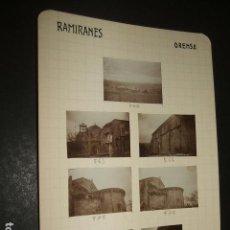 Fotografía antigua: RAMIRANES ORENSE 1930 13 FOTOGRAFIAS JEAN BRAUNWALD ARQUITECTO . Lote 103190199