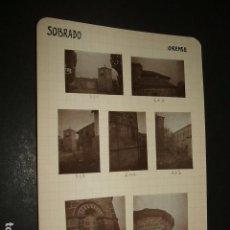 Fotografía antigua: SOBRADO PUEBLA DE TRIVES ORENSE 1930 17 FOTOGRAFIAS JEAN BRAUNWALD ARQUITECTO . Lote 103190383