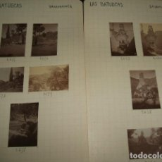 Fotografía antigua: LAS BATUECAS SALAMANCA 1930 51 FOTOGRAFIAS JEAN BRAUNWALD ARQUITECTO . Lote 103378559