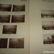 Fotografía antigua: PEÑA DE FRANCIA ROMERIA SALAMANCA 1930 31 FOTOGRAFIAS JEAN BRAUNWALD ARQUITECTO . Lote 103379567