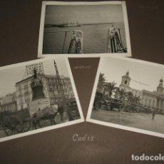 Fotografía antigua: CADIZ GUERRA CIVIL 1936 CONJUNTO 14 FOTOGRAFIAS POR SOLDADO LEGION CONDOR GÜNTER KASCHE. Lote 103484711