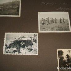 Fotografía antigua: ORDUÑA VIZCAYA FRENTE VIZCAYA GUERRA CIVIL 1937 9 FOTOGRAFIAS SOLDADO LEGION CONDOR GÜNTER KASCHE. Lote 103486115