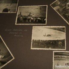 Fotografía antigua: HUELVA GUERRA CIVIL 1937 6 FOTOGRAFIAS CORRIDA DE TORO POR SOLDADO LEGION CONDOR GÜNTER KASCHE . Lote 103490583