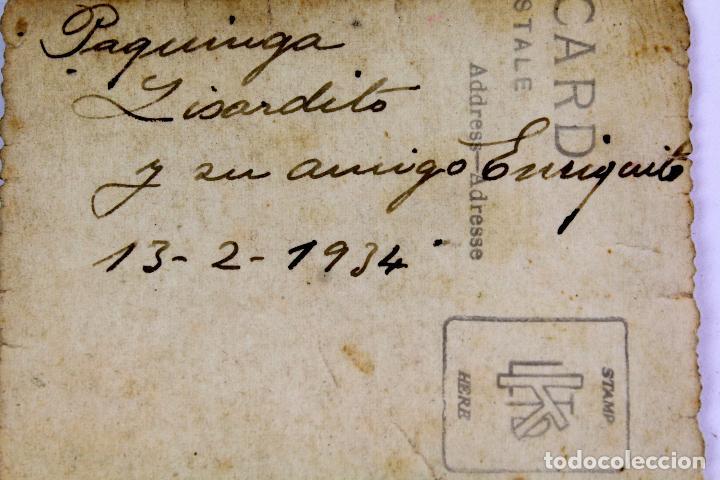 Fotografía antigua: F-3389. FIESTA DE CARNAVAL EN LAS CALLES DE BARCELONA. FEBRERO DE 1934. - Foto 3 - 103782015