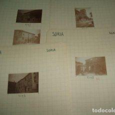 Fotografía antigua: SORIA 1930 63 FOTOGRAFIAS JEAN BRAUNWALD ARQUITECTO . Lote 103863811