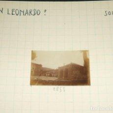 Fotografía antigua: SAN LEONARDO SORIA 1930 FOTOGRAFIA JEAN BRAUNWALD ARQUITECTO . Lote 103864683