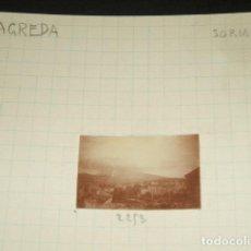 Fotografía antigua: AGREDA SORIA 1930 FOTOGRAFIA JEAN BRAUNWALD ARQUITECTO . Lote 103864751