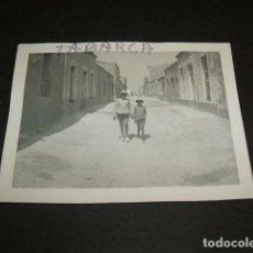 Fotografía antigua: TABARCA ALICANTE ANTIGUA FOTOGRAFIA. Lote 103901319