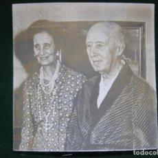 Fotografía antigua: FOTO FRANCISCO FRANCO BLANCO & NEGRO. Lote 104070511
