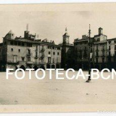 Fotografía antigua: FOTO ORIGINAL VIC PLAÇA MAJOR AÑOS 20/30. Lote 104276687