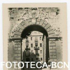 Fotografía antigua: FOTO ORIGINAL TARRAGONA PORTAL SANT ANTONI AÑOS 20. Lote 104277739
