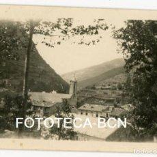 Fotografía antigua: FOTO ORIGINAL RIBES DE DESDE LA CARRETERA A LA FONT DE LA MARGARIDETA AÑO 1923. Lote 104278931