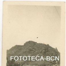 Fotografía antigua: FOTO ORIGINAL RIBES DE DESDE LA CARRETERA A LA FONT DE LA MARGARIDETA AÑO 1923. Lote 104279007