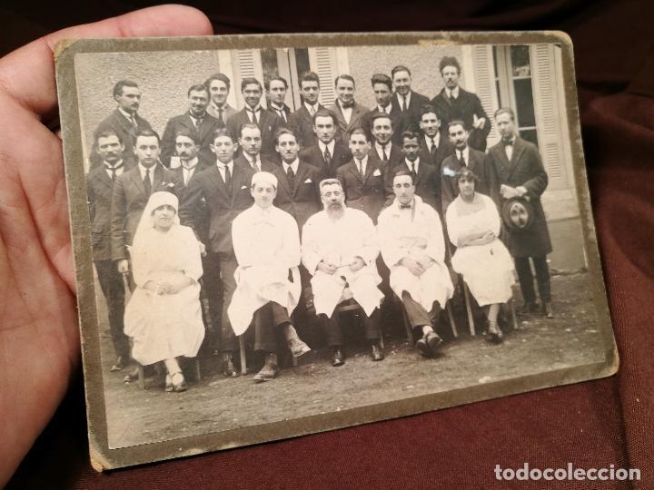 Fotografía antigua: GRUPO DE MÉDICOS Y ESTUDIANTES MEDICINA SIGLO XIX. SIN AUTORÍA-HOSPITAL - Foto 3 - 104353671