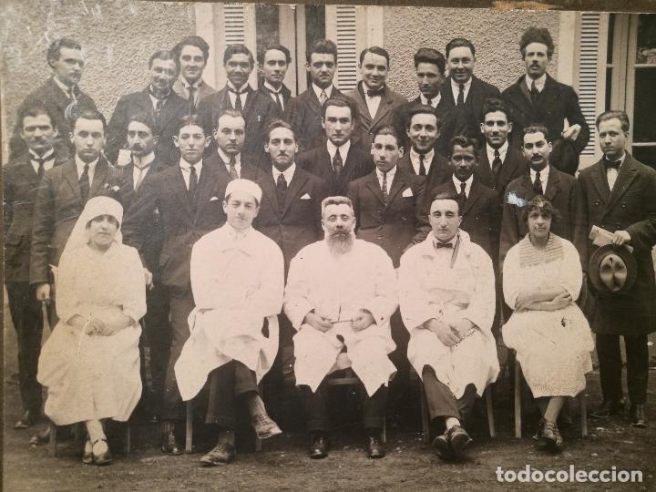 Fotografía antigua: GRUPO DE MÉDICOS Y ESTUDIANTES MEDICINA SIGLO XIX. SIN AUTORÍA-HOSPITAL - Foto 4 - 104353671
