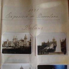 Fotografía antigua: LOTE 16 FOTOGRAFIAS EXPOSICION INTERNACIONAL BARCELONA 1929 ORIGINALES. Lote 104852003