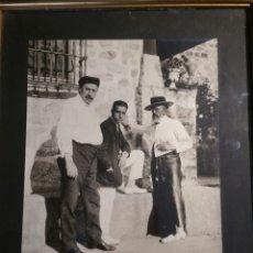 Fotografía antigua: FOTOGRAFÍA ORIGINAL DE ZULOAGA, BELMONTE, Y URANGA 18 X 24 CM.. Lote 107086506
