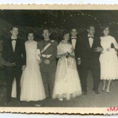 Fotografía antigua: BARREDA, TORRELAVEGA. UNA BODA EN AGOSTO DE 1958. FOTO MAZO, SANTANDER 17X11,2 CM.. Lote 107353587