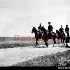 Fotografía antigua: MANIOBRAS MILITARES EN NAVALCARNERO 1920 NEGATIVO DE CRISTAL - FOTOGRAFIA ANTIGUA. Lote 109074839