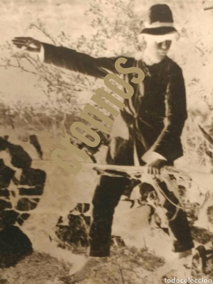 Fotografía antigua: Foto antigua de caza. Placa de cristal Gelatino-Bromuro 1910 - Foto 4 - 109126303