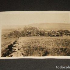Fotografía antigua: PUEBLA DE SANABRIA ZAMORA FOTOGRAFIA AÑOS 20 6 X 8,5 CMTS. Lote 109478247