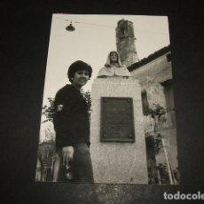 Fotografía antigua: OLMEDO VALLADOLID MONUMENTO FOTOGRAFIA ANTIGUA 8 X 11 CMTS. Lote 110205591