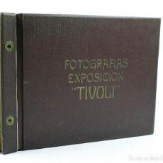 Fotografía antigua: BARCELONA, EXPOSICIÓN TIVOLI, 1930'S. ÁLBUM CON 22 FOTOGRAFÍAS DE ENRIC MAYMÓ. VER. Lote 110272487