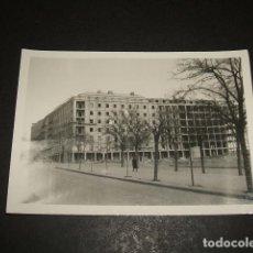 Fotografía antigua: MADRID EDIFICIOS DE VIVIENDAS EN CONSTRUCCION FOTOGRAFIA AÑOS 50. Lote 110322079