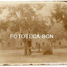 Fotografía antigua: FOTO ORIGINAL SANTUARIO SANTA MARIA DE LLUC ESCORCA AÑOS 20 MALLORCA BALEARES. Lote 110327339