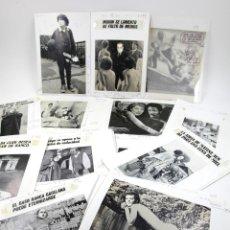 Fotografía antigua: REVISTA EL PAPUS, COLECCIÓN DE 59 FOTOMONTAJES 18X24CM. 1980-82. VER. Lote 110368643