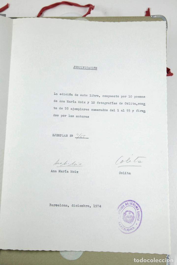 Fotografía antigua: HABANERA - COLITA - ANA MARIA MOIX - PORFOLIO CON 10 FOTOGRAFÍAS Y TEXTOS. AÑO 1974 - Foto 2 - 111221571