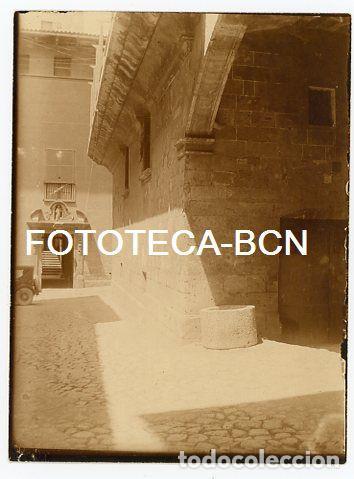 FOTO ORIGINAL PALMA DE MALLORCA CALLE DE LA LOCALIDAD AÑOS 20 BALEARES (Fotografía Antigua - Gelatinobromuro)