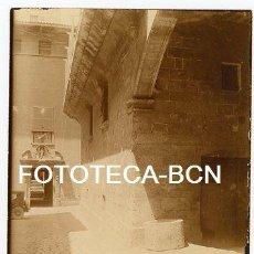 Fotografía antigua: FOTO ORIGINAL PALMA DE MALLORCA CALLE DE LA LOCALIDAD AÑOS 20 BALEARES. Lote 111247675