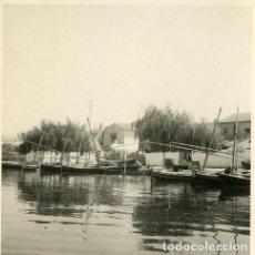Fotografía antigua: VALENCIA. LA ALBUFERA. 4 FOTOGRAFÍAS POR VIAJERO FRANCÉS EN 1952.. Lote 111909487