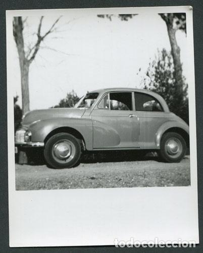 AUTOMOVILISMO. COCHE AÑOS 50. 23 DE MARZO DE 1952 (Fotografía Antigua - Gelatinobromuro)