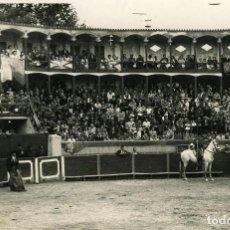 Fotografía antigua: VELEZ RUBIO (ALMERIA). PLAZA DE TOROS .TAMAÑO 11,5X17,5 CM. TIENE SELLO DE EDICIONES ARRIBAS. Lote 112832391
