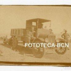 Fotografía antigua: FOTO ORIGINAL CAMIION EJERCITO ESPAÑOL NORTE DE AFRICA AÑOS 20. Lote 112955239