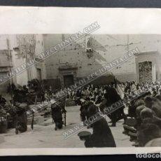 Fotografía antigua - FOTO ORIGINAL // 17X22 CEREMONIA MILITAR FRANCO MADRID - 113468655