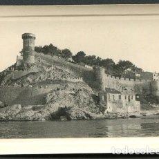 Fotografía antigua: TOSSA DE MAR. CASTILLO DE TOSSA. AÑOS 60. Lote 114158519