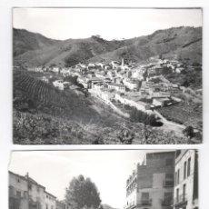 Fotografía antigua: PORRERA, PROV. DE TARRAGONA, 2 FOTOGRAFÍAS 13X18 CM. 1960'S.. Lote 119617107