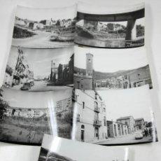 Fotografía antigua: CALLÚS, EL BAGES, PROV. BARCELONA. 1960'S. 7 FOTOGRAFÍAS 13X18 CM.. Lote 114424731